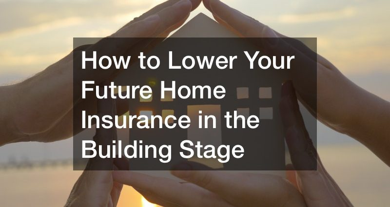 how to get house insurance on a new build